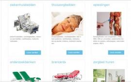 Ziekhuisbed.nl nieuwe website en webshop Den Bosch