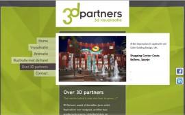 3D partners PSD naar WordPress template Moergestel