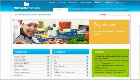 Reflex-systems.nl WordPress CMS Almere