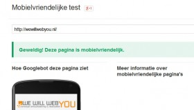 mobile seo mobielvriendelijke website test google