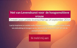 Omdekunstvanleven.nl E-mail marketing + online trainingen Den Dungen