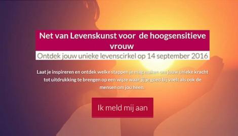 Omdekunstvanleven.nl E-mail marketing + online trainingen Den Dungen