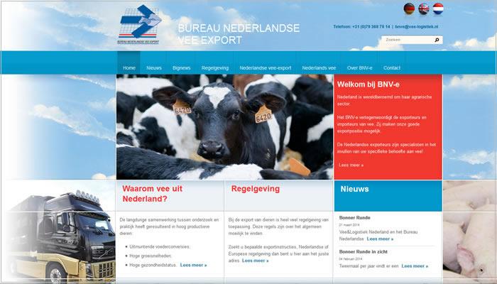 BNVE.nl bureau Nederlandse vee export Zoetermeer