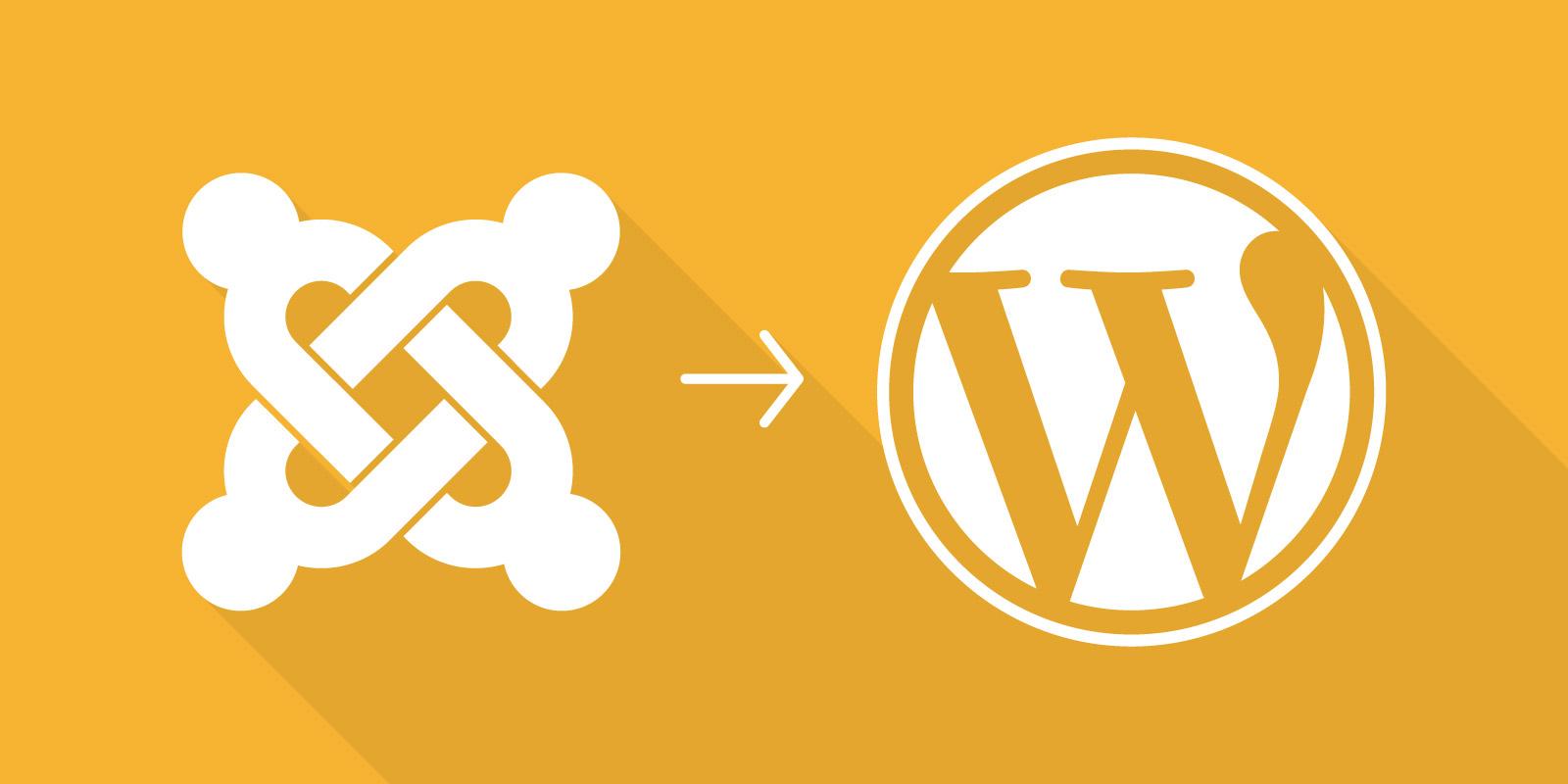 hoe omzetten Joomla naar WordPress